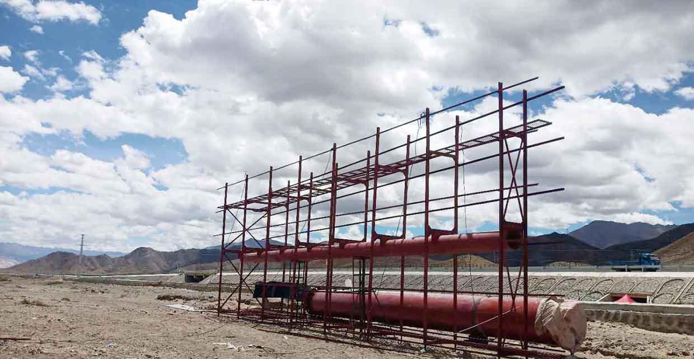 六盘水擎天柱制作厂家---施工案例