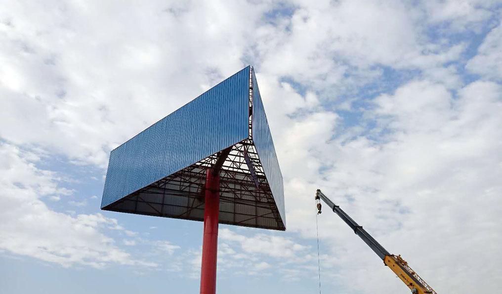 海北三面网架单立柱制作公司--质优价廉