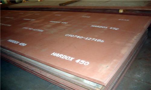 淮北HARDOX450耐磨钢板机械性能
