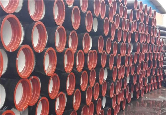 嘉兴k9级球墨铸铁管DN1600每米重量