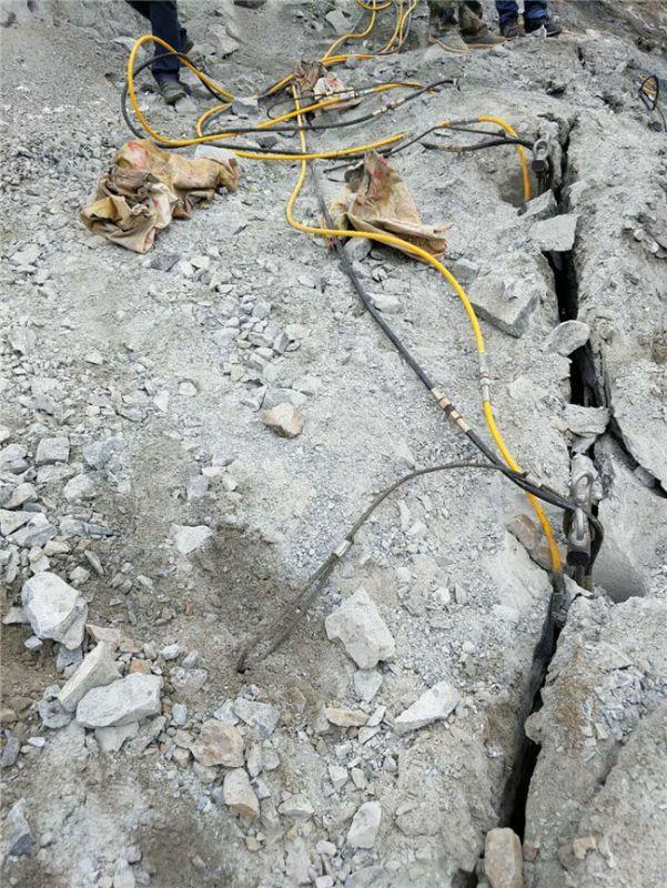 东昌大坝开挖除了爆破石头分裂厂家直销