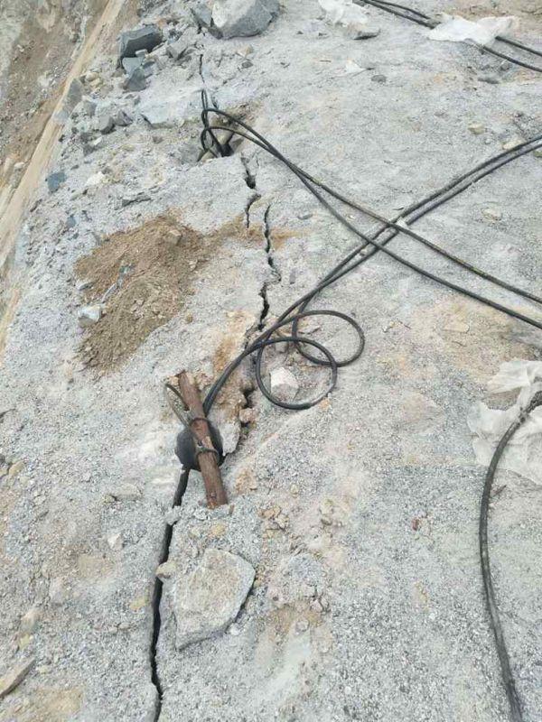 通化花岗岩破碎露天矿开采机器操作简单