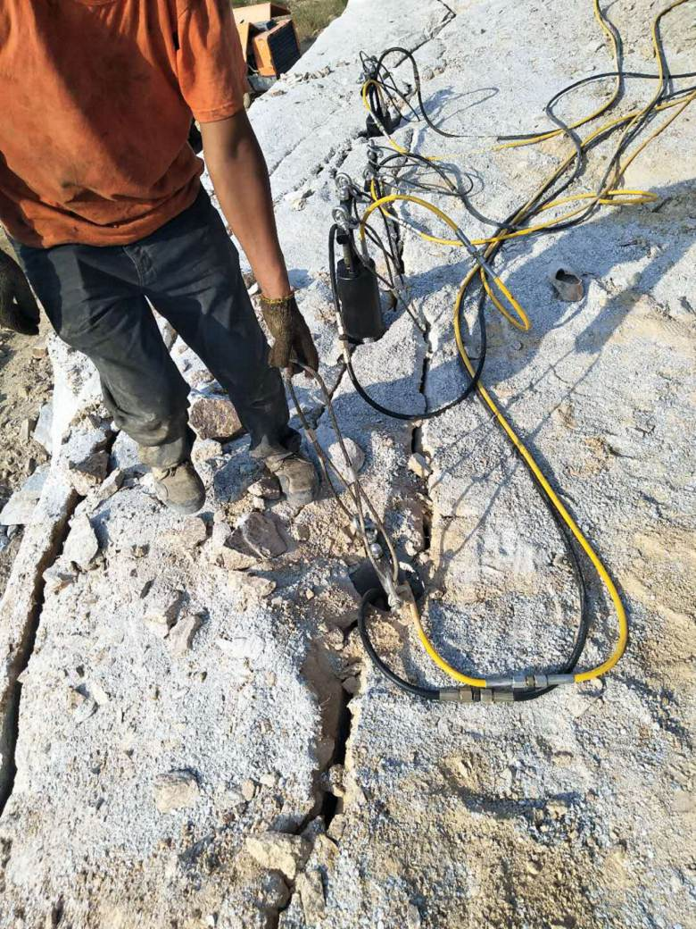 梅河口岩石硬度大不容易破开怎么办解决难题