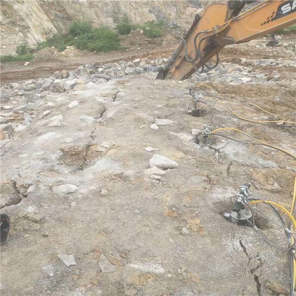 二道江批发矿山上开采石头效率快的设备开采要点