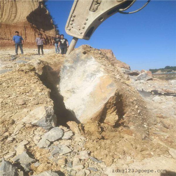 吉林开石机石英石破碎开采劈裂棒