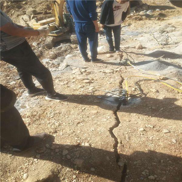 吉林岩石破碎劈石机岩石劈裂机