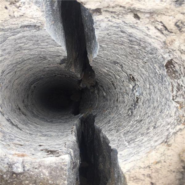 宁夏基础工程开挖岩石劈石机