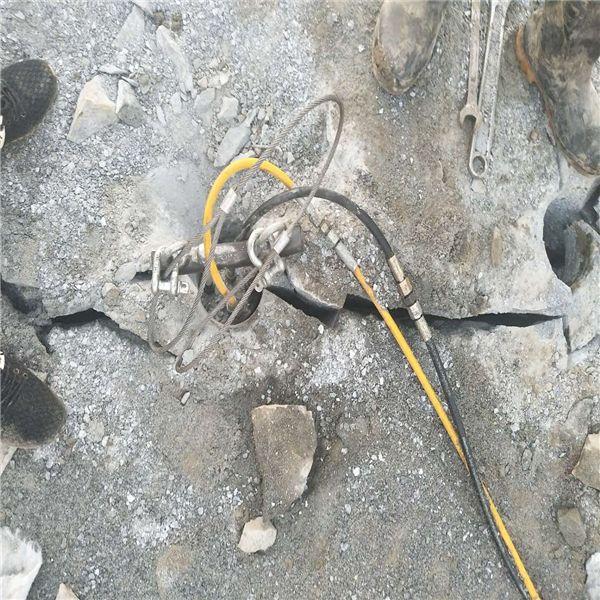 吉林石头破开破石机
