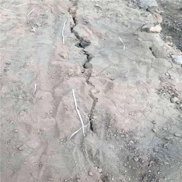 吉林岩石静态撑石机打石机