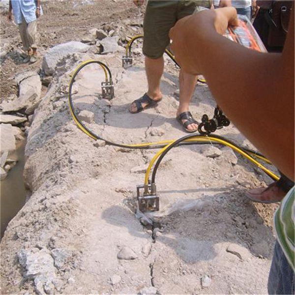吉林取代挖机破石用什么开采快