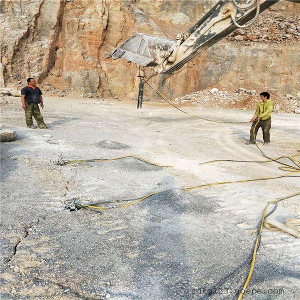 吉林矿石开采撑裂机