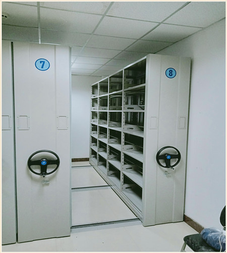 龙岩图书室智能密集书架定做