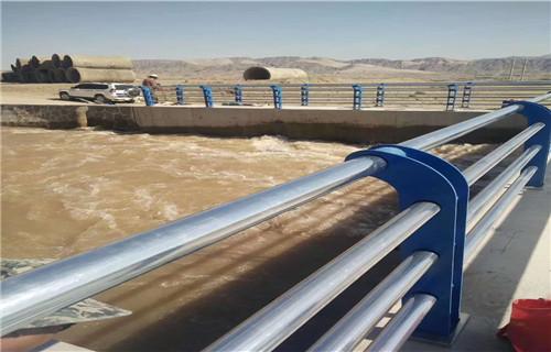 宁夏护栏厂高品质生产201/304不锈钢复合管栏杆