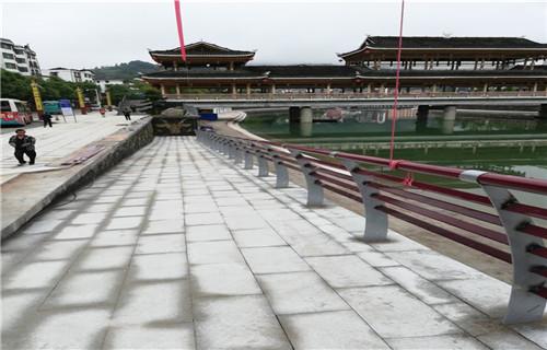 吉林304不锈钢景观河道栏杆质量优等