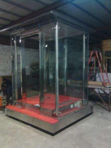 吉林玻璃岗亭不锈钢玻璃岗亭厂家