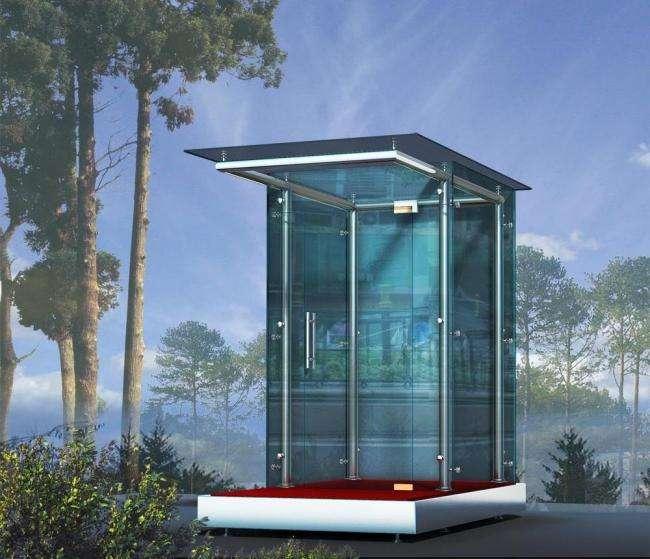 吉林玻璃岗亭玻璃岗亭不锈钢加工