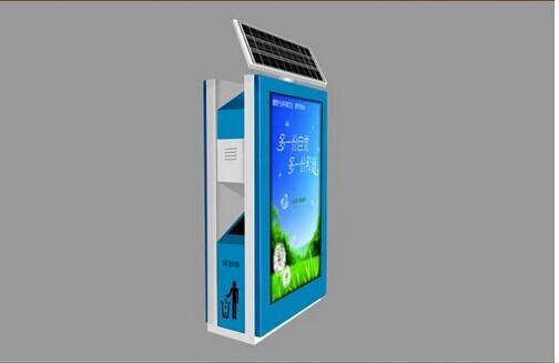 商洛广告垃圾箱不锈钢滚动垃圾箱灯箱品质保证