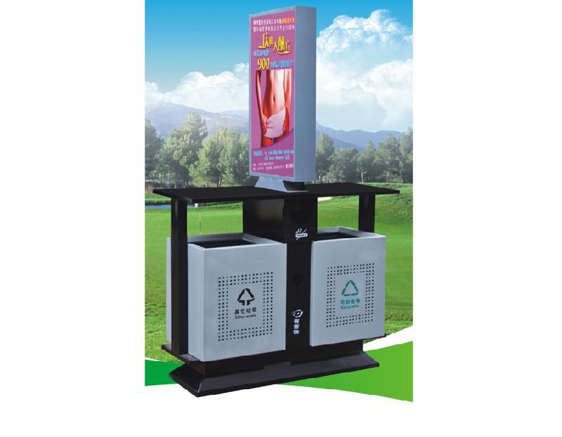 萍乡广告垃圾箱不锈钢滚动垃圾箱灯箱质量好的