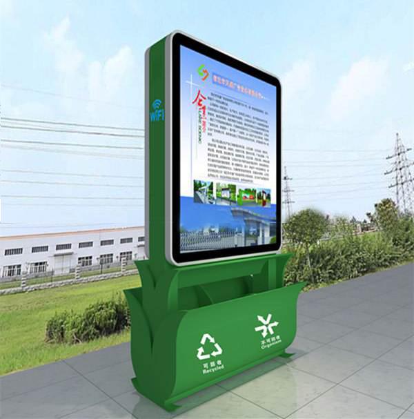 吉林广告垃圾箱不锈钢垃圾箱灯箱有品质保证