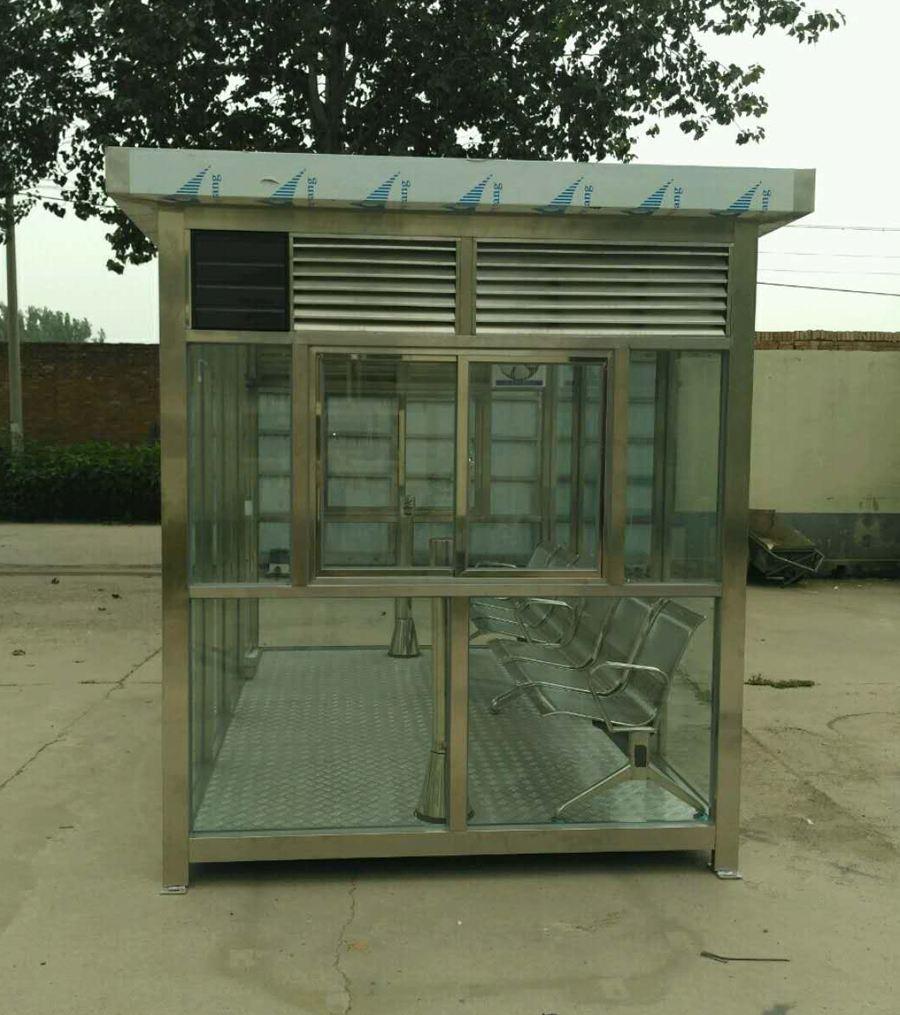 吉林吸烟亭不锈钢吸烟亭价格