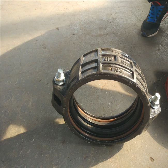 宁夏250矿用承插式卡箍