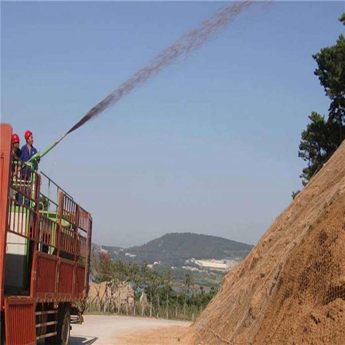 吉林高速公路护坡草籽喷浆机