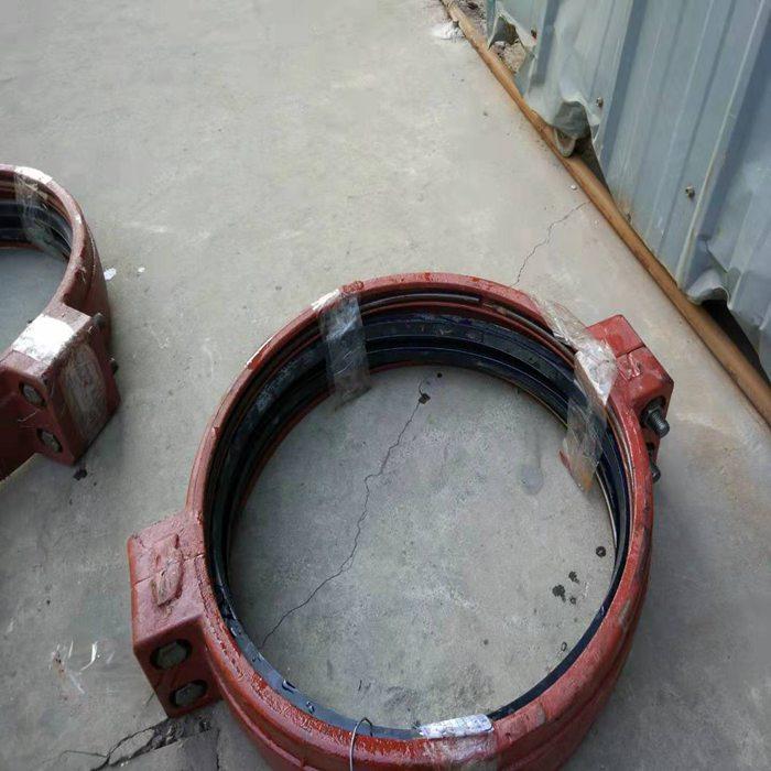 甘肃嘉峪关市钢环100箍式快速接头480