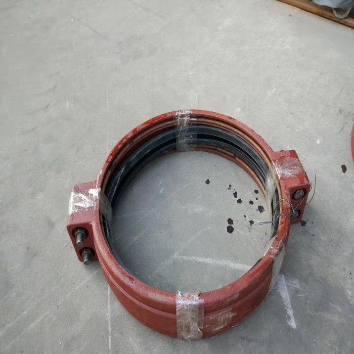 新疆克拉玛依市450短管卡箍柔性管接头150