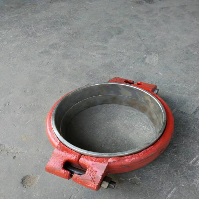 云南文山市180对焊箍式快速接头5