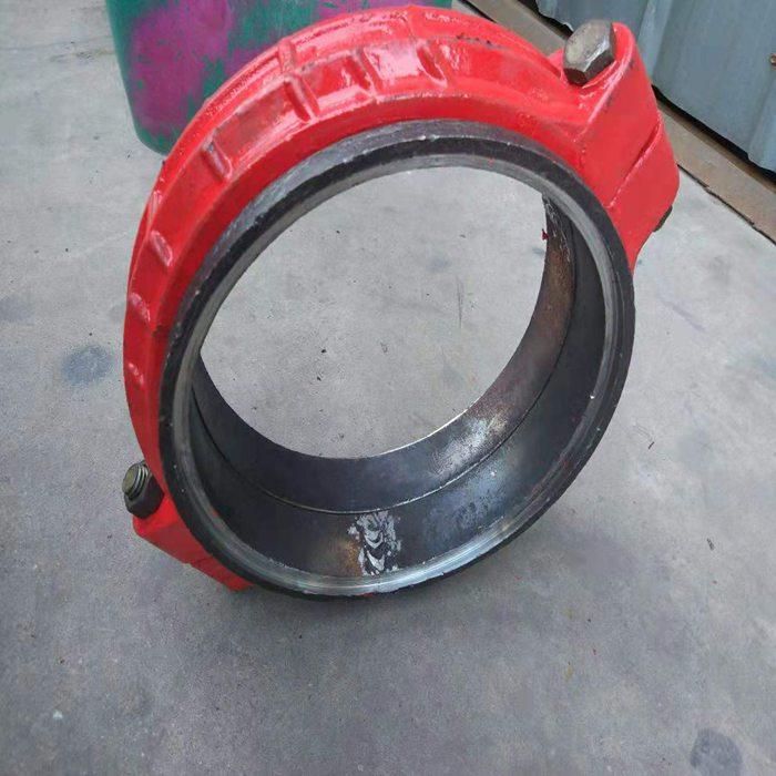 陕西商洛市450短管箍柔性管接头6