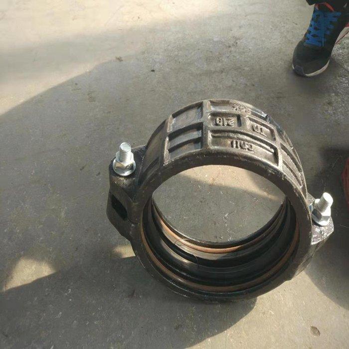 山西阳泉市450承插焊接卡箍接头273