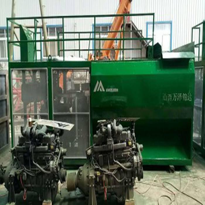 吉林省吉林市矿山复绿植草喷播草籽机