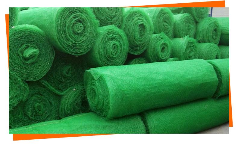 吉林绿色三维植被网库存现货薄利多销