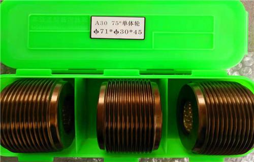 娄底市DY75度60度钢筋滚丝轮今日发现