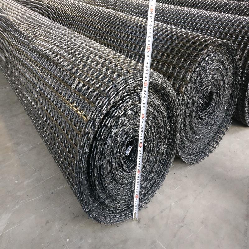 安庆塑料双向焊接格栅自粘型玻璃纤维土工格栅批发零售施工方案厂家